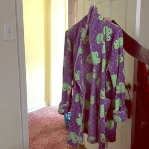 Purple and Green Frog Robe